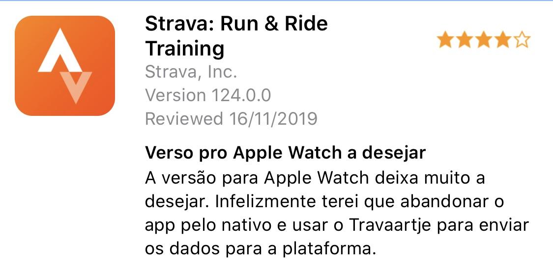 review app strava
